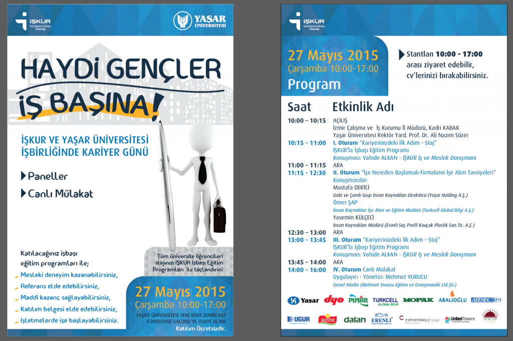 İŞKUR - YASAR UNV. PROGRAM