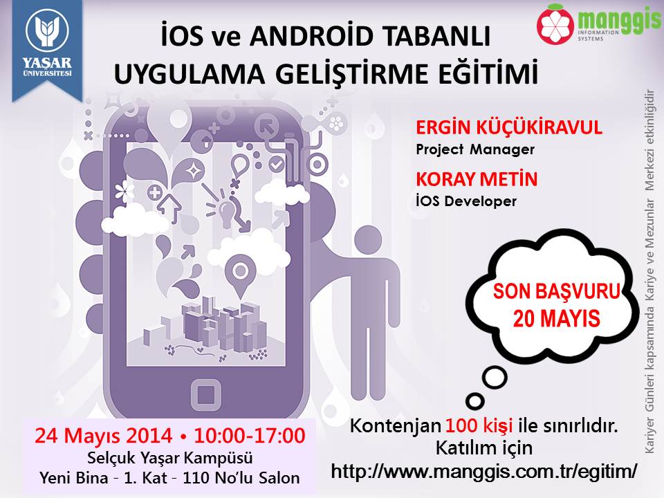 İOS VE ANDROİD TABANLI UYG GEL.EGITIMI