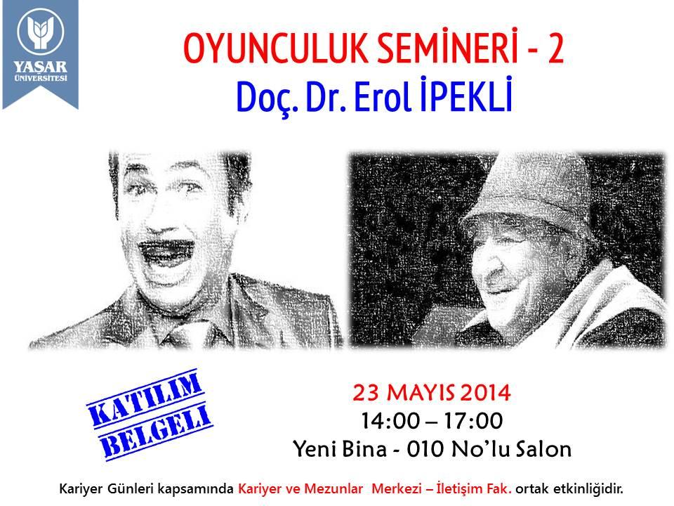 OYUNCULUK  SEMİNERLERİ-2